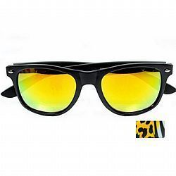 New York 2732-42 Preto-Amarelo Animal Print