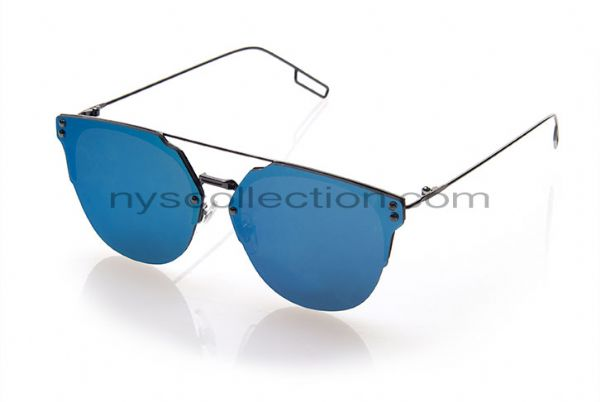 New Collection 4549-31 Azul Espelhado