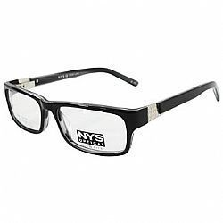 Óculos NYS Optical 57-5207 Preto-Cinza