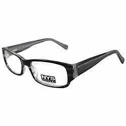 Óculos NYS Optical 64-5204 Preto-Cinza