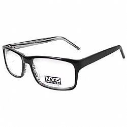 Óculos NYS Optical 66-5205 Preto-Cinza